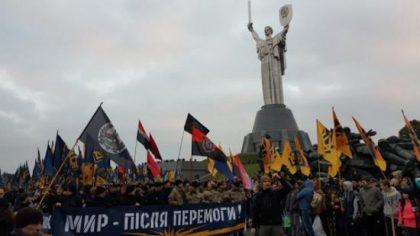 Ukraine : création d'un nouveau mouvement nationaliste : Corps National