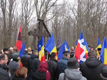 Les nationalistes rendent hommages à Corneliu Codreanu