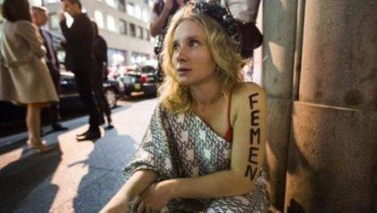 États-Unis : l'ex-chef des Femen au Quebec, arrêtée pour prostitution