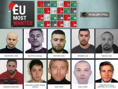 europol-publie-son-calendrier-de-lavent-des-criminels-les-plus-recherches