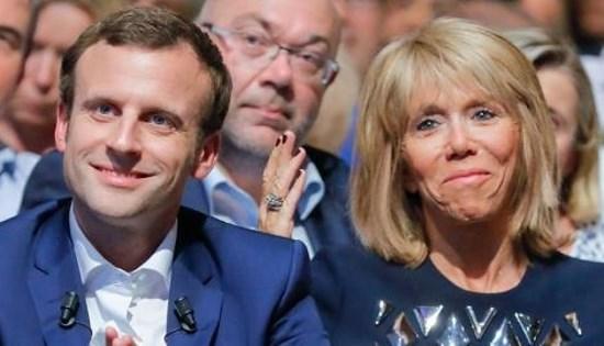 Macron Gay Amant