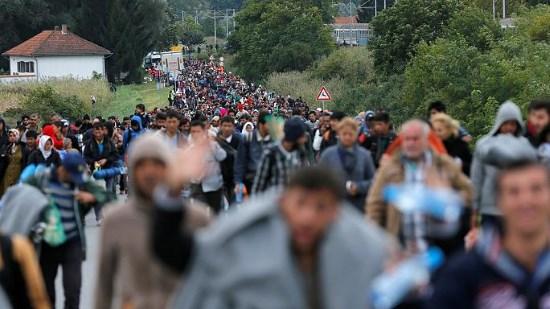 Subversion migratoire de l'Europe : 700 000 nouveaux envahisseurs « réfugiés » en 2016 !