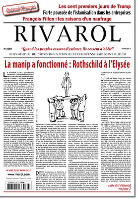 La manip a fonctionné : Rothschild à l'Elysée