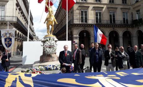 Intervention d'André Gandillon à l'hommage à Jeanne d'Arc (vidéo)