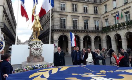Intervention de Radu Creanga lors de l'hommage à Jeanne d'Arc (vidéo)