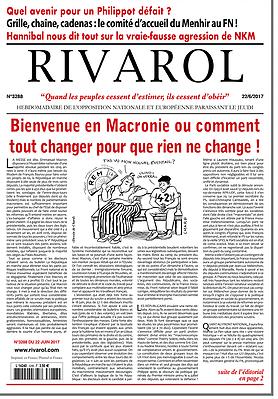 Bienvenue en Macronie ou comment tout changer pour que rien ne change !