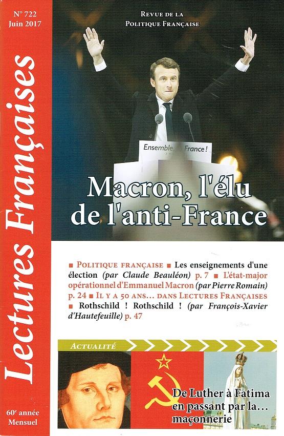 Lectures Françaises N° 722 de juin 2017