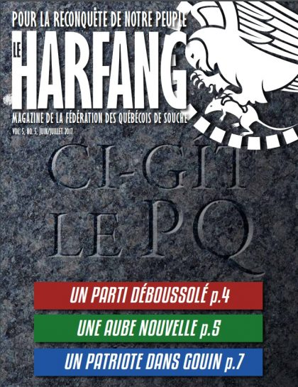 Le Harfang Vol 5, n°5 juin/juillet 2017