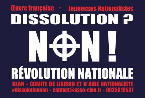 Dissolution ? Non ! Révolution nationale !
