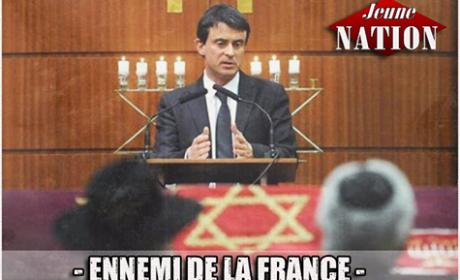 Les Juifs devant, les musulmans à côté, les Français derrière : Manuel Valls attribue les places dans leur République