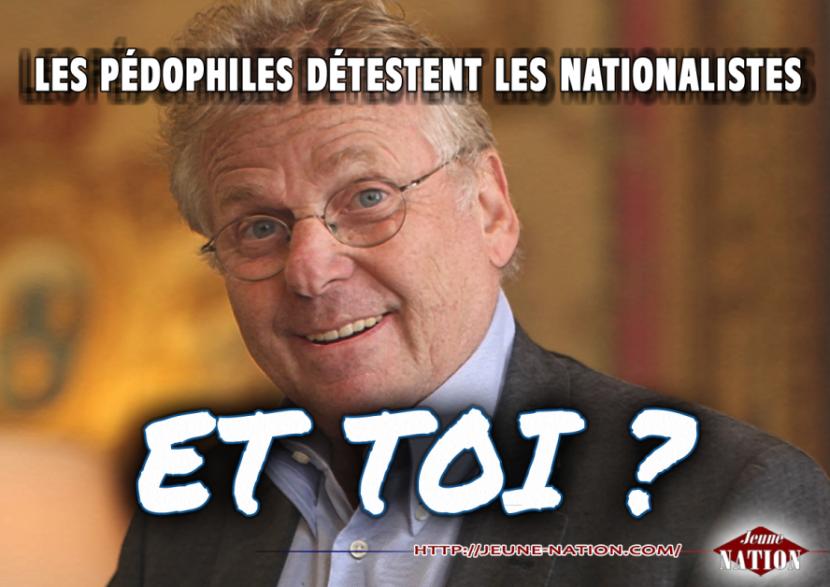 Le pédocriminel juif Daniel Cohn-Bendit engagé sur France 2