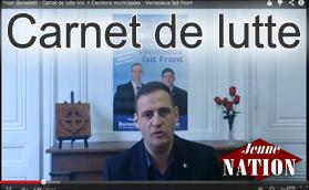 [Vidéo]Carnet de lutte vol. III Hommage à Jeanne d'Arc, 11 mai 2014