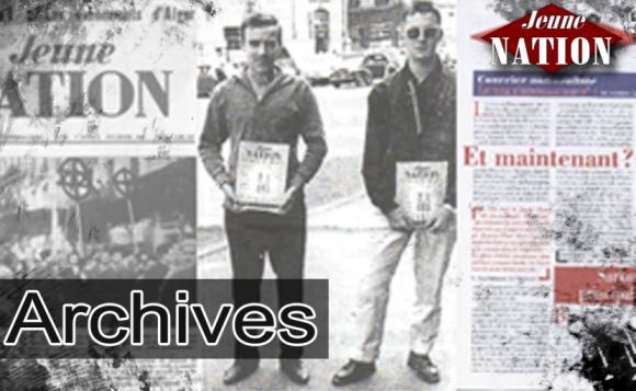 Jeune nation : Pierre Sidos et l'Œuvre française en 1980