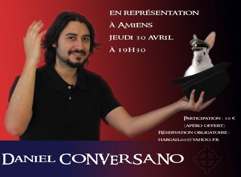 Amiens : Spectacle de Daniel Conversano