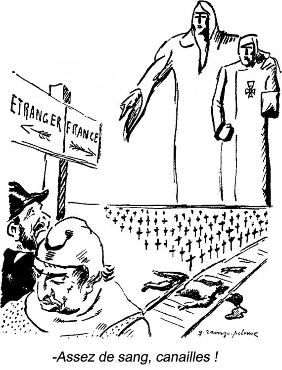 Caricature de Germain Raingo-Pelouse (1893-1963)