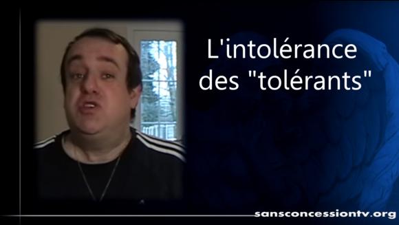 L'intolérance des «tolérants» par Vincent Reynouard