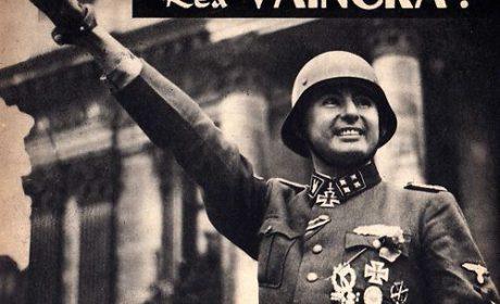 2 avril 1944 : Défilé de la Légion Wallonie à Bruxelles