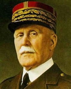 Philippe Pétain    24 avril 1856  –   23 juillet 1951