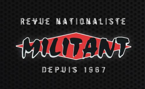 Militant – Décembre 2018 – Révolte populaire des Gilets jaunes