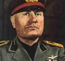 Benito Mussolini  29 juillet 1883  -  28 avril 1945