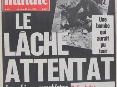 14 mai 1971 : attentat contre le journal Minute