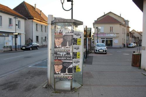 La campagne de Jeune Nation « Justice pour le Maréchal » dérange en Isère