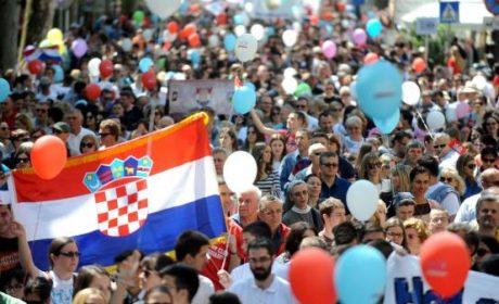 Croatie : succès de la première Marche pour la Vie