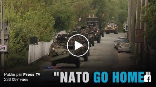 Moldavie : protestation contre les exercices militaires de l'OTAN