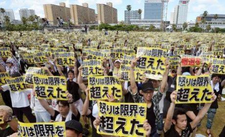 Japon : manifestations anti-américaines massives