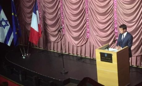 Valls célèbre la fête de l'occupation de la Palestine aux Folies Bergères