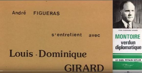 Entretien de Louis-Dominique Girard par André Figueras