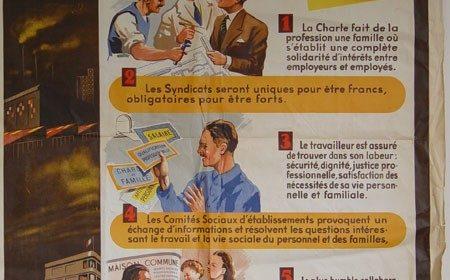 4 octobre 1941 : Promulgation de la Charte du Travail