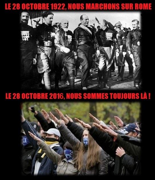 28 octobre 1922 : Marche sur Rome