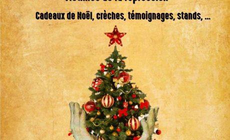 Noël du CLAN le 17 décembre à Lyon et le 18 décembre à Paris