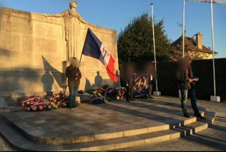 Commémoration du 11 novembre par le Parti Nationaliste Français