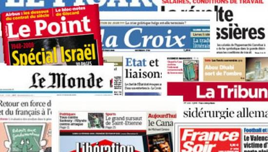 """Résultat de recherche d'images pour """"journaux francais"""""""