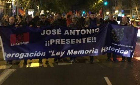 Délégation PNF et Jeune Nation aux commémorations de Jose Antonio Primo de Rivera