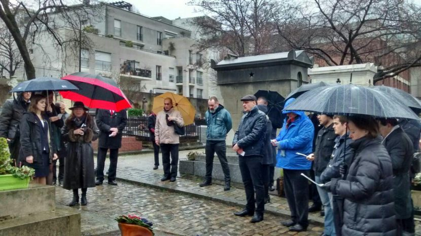 Hommage à Robert Brasillach par Hélène Grimaldi du Cercle Franco-Hispanique le 4 février 2017