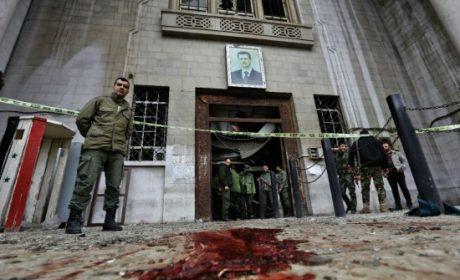 Les attentats de Damas