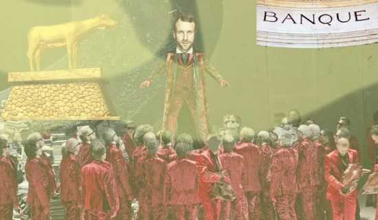 Macron favori, la Haute-Finance salive à l'idée des plans sociaux et de ses futurs profits