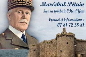 Hommage au maréchal Pétain - 22 et 23 juillet 2017 - Ile d'Yeu