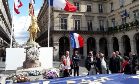 Intervention d'Irène Dimopoulou-Pappa lors de l'hommage à Jeanne d'Arc 2017 (vidéo)