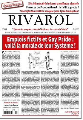 Emplois fictifs et Gay Pride : voilà la morale de leur Système !