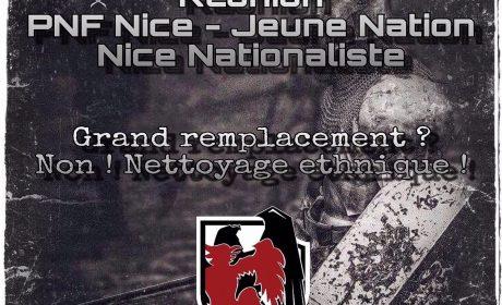 Saint-Laurent-du-Var – 8 juillet – 21 h – « Grand remplacement ? Non, nettoyage ethnique ! »