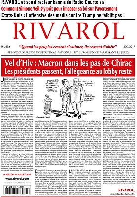 Vel d'Hiv : Macron dans les pas de Chirac. Les présidents passent, l'allégeance au lobby reste