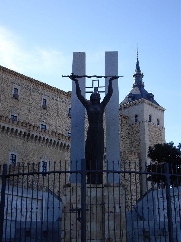 27 septembre 1936 :  anniversaire de la libération de l'Alcazar de Tolède