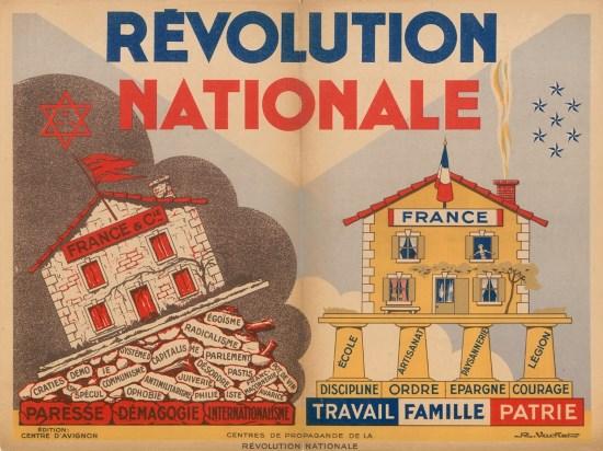 La France sous vichy : genèse d'un socialisme enraciné