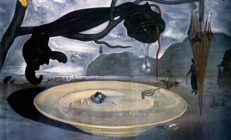 « La enigma de Hitler »  expliquée à Léon Degrelle par Salvador Dali