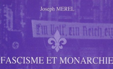 Joseph Merel – Fascisme et Monarchie (audio)