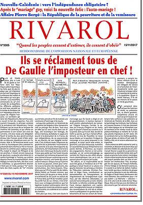 Ils se réclament tous de De Gaulle l'imposteur en chef !